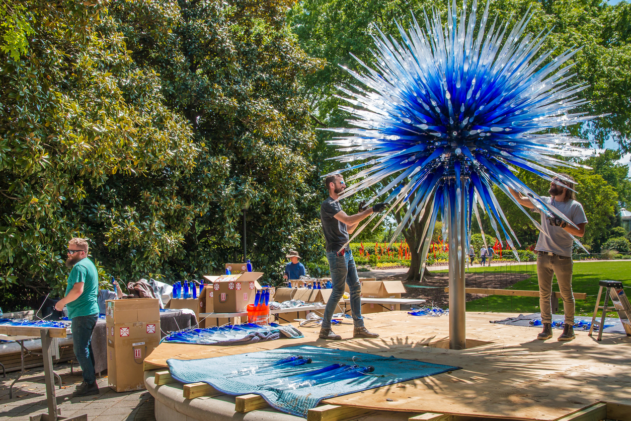 Dale Chihuly - at New York Botanical Garden